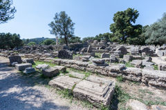 Olympia Temple Greece Royalty Free Stock Image