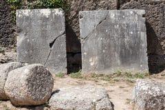 Olympia Temple Greece Stock Photo