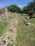 Olympia Temple Ruins Greece Stock Photo