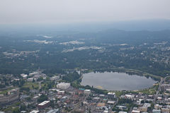 Olympia Washington Aerial View of Capital Building Royalty Free Stock Photos