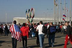 Olympiade von Sochi-2014 Stockfotos