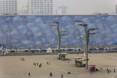 Olympiagelände, Peking Stockbild