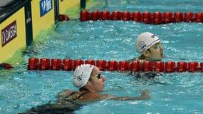 Olympian swimmer Evelyn VERRASZTO HUN Royalty Free Stock Photo