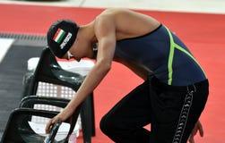 Olympian swimmer Zsuzsanna JAKABOS HUN Stock Photography