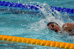 Olympian swimmer Zsuzsanna JAKABOS HUN. Hong Kong, China - Oct 29, 2016. Olympian swimmer Zsuzsanna JAKABOS HUN swimming in Women`s Freestyle 200m Final. FINA Stock Images