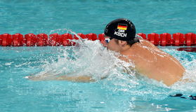 Olympian, world champion and record holder swimmer Marco KOCH GER Royalty Free Stock Photography