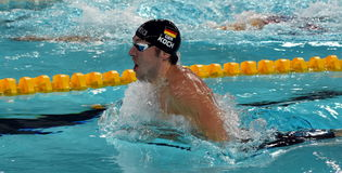 Olympian, world champion and record holder swimmer Marco KOCH GER Stock Image