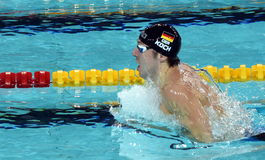 Olympian, world champion and record holder swimmer Marco KOCH GER Royalty Free Stock Photo