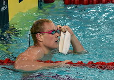 Olympian and World Youth gold medalist Peter Bernek Stock Image