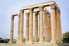 olympian zeus świątyni Obraz Royalty Free