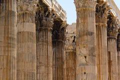 olympian zeus świątyni Zdjęcia Royalty Free