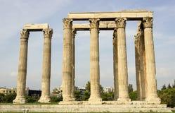 olympian zeus świątyni Obraz Stock