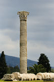 olympian zeus ναών της Αθήνας Ελλάδα Στοκ εικόνες με δικαίωμα ελεύθερης χρήσης