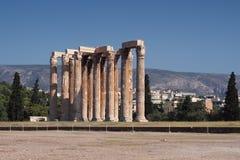 olympian zeus ναών Στοκ Εικόνες