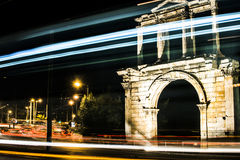 Olympian Zeus-kolommen Royalty-vrije Stock Foto's