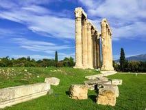 Ναός Olympian Zeus στοκ εικόνα