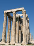 olympian zeus świątyni Zdjęcie Royalty Free