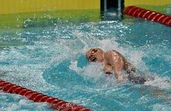 Olympian zwemmer Evelyn VERRASZTO HUN Royalty-vrije Stock Afbeelding