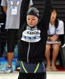 Olympian zwemmer Zsuzsanna JAKABOS HUN Stock Fotografie
