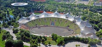 Olympiapark的体育场在慕尼黑 库存图片