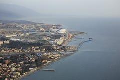 Olympiapark auf der Schwarzmeerküste Lizenzfreies Stockfoto