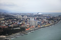 Olympiapark auf der Schwarzmeerküste Stockfotos
