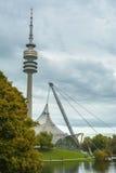 Olympiapark i Munich, Bayern, Tyskland Royaltyfri Bild