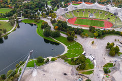 Olympiapark Munchen Stock Photo