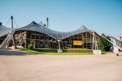 Olympiapark Munchen ingång Arkivbilder