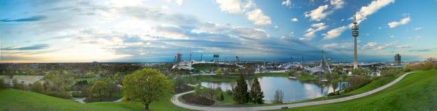 Olympiapark munich Foto de Stock Royalty Free