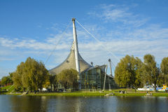 Olympiapark in Munich, Bavaria, Germany stock images