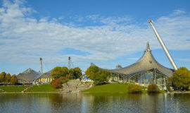 Olympiapark in Munich, Bavaria, Germany Royalty Free Stock Photography