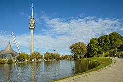 Olympiapark in Munich, Bavaria, Germany royalty free stock images