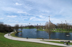 The Olympiapark in Munich, Germany Stock Photo
