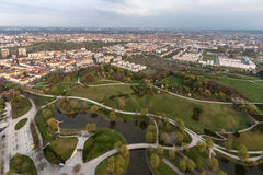 Olympiapark Munich Germany Stock Image
