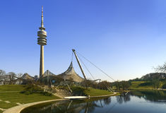 Olympiapark, Munich Olympic Stadium Stock Images
