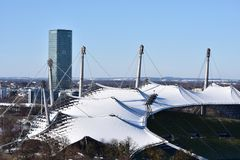 Olympiapark, Munich Royalty Free Stock Images