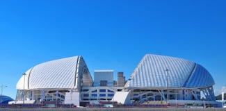 Olympiapark Russlands - 10. Juli 2017 Sochi Damm von Adler Lizenzfreies Stockfoto