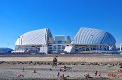 Olympiapark Russlands - 10. Juli 2017 Sochi Damm von Adler, S Lizenzfreie Stockfotografie