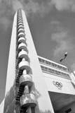 Olympiastadion奥林匹克体育场的塔 免版税库存图片