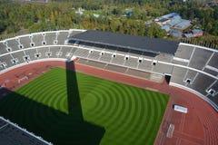 Olympiastadion赫尔辛基 免版税库存图片