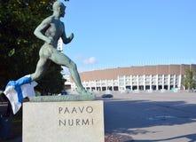 Olympiastadion赫尔辛基 库存照片