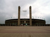 Olympiastadion Fotografie Stock Libere da Diritti