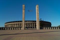 Olympiastadion Berlín Imágenes de archivo libres de regalías
