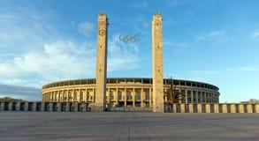 Olympiastadion, Berlijn, Duitsland Royalty-vrije Stock Foto's