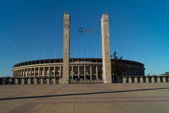 Olympiastadion Berlin, Germany. The olympic sports stadium in Berlin, Germany royalty free stock images