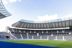 Olympiastadion el estadio Olímpico en Berlín, Alemania imagen de archivo libre de regalías