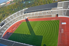 Olympiastadion. HELSINKI FINLAND SEPTEMBER 25 2015:  Olympiastadion (Olimpic stadium), located in the Toolo district the largest stadium in the country centre of Royalty Free Stock Photography