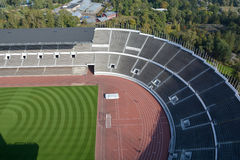 The Olympiastadion Helsinki Stock Photo