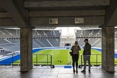 Olympiastadion Olimpijski stadium w Berlin, Niemcy obraz royalty free